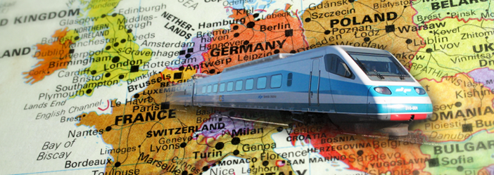 Travel-Europe-train