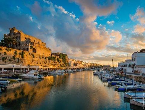 Spain Menorca Ciutadella boat rent