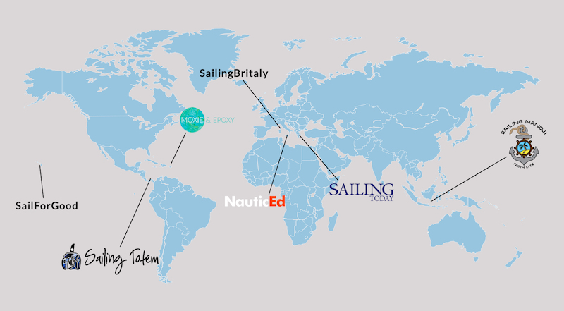 Favourite destinations of sailing expert
