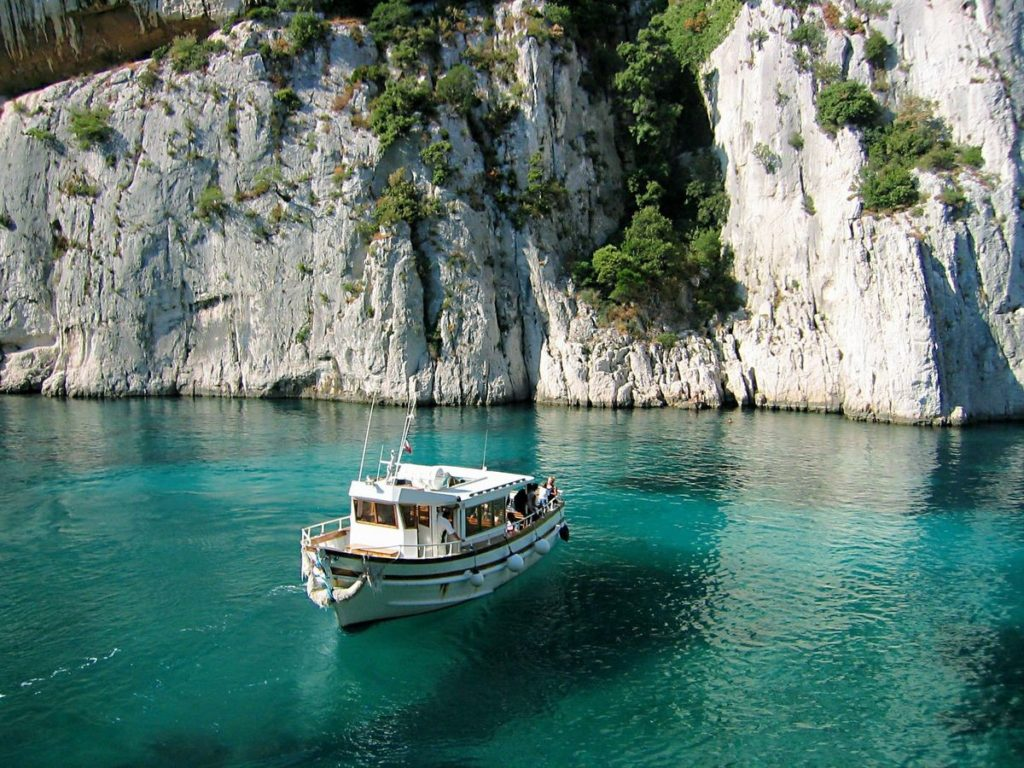 Calanques of Marseille France Boat trip