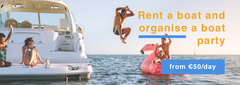 Rent a boat and organise a boat party