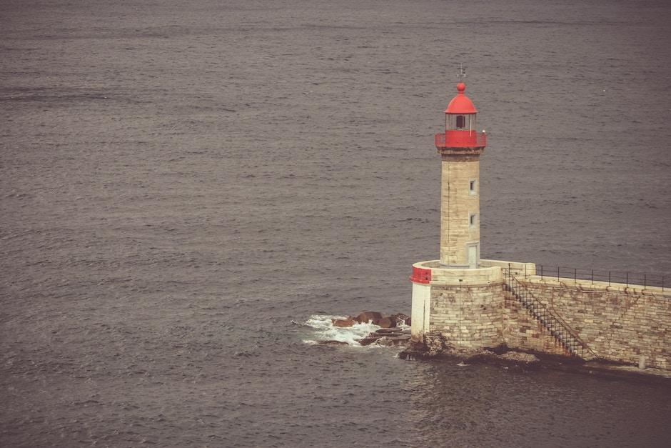 Light house in Bastia France