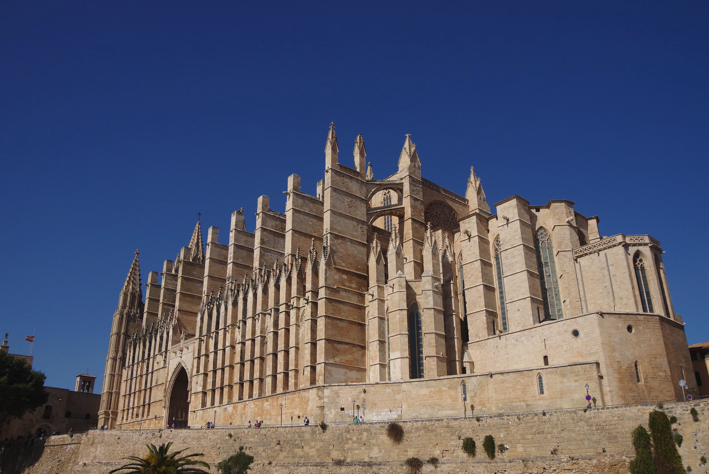 Cathedral in the city of Palma.