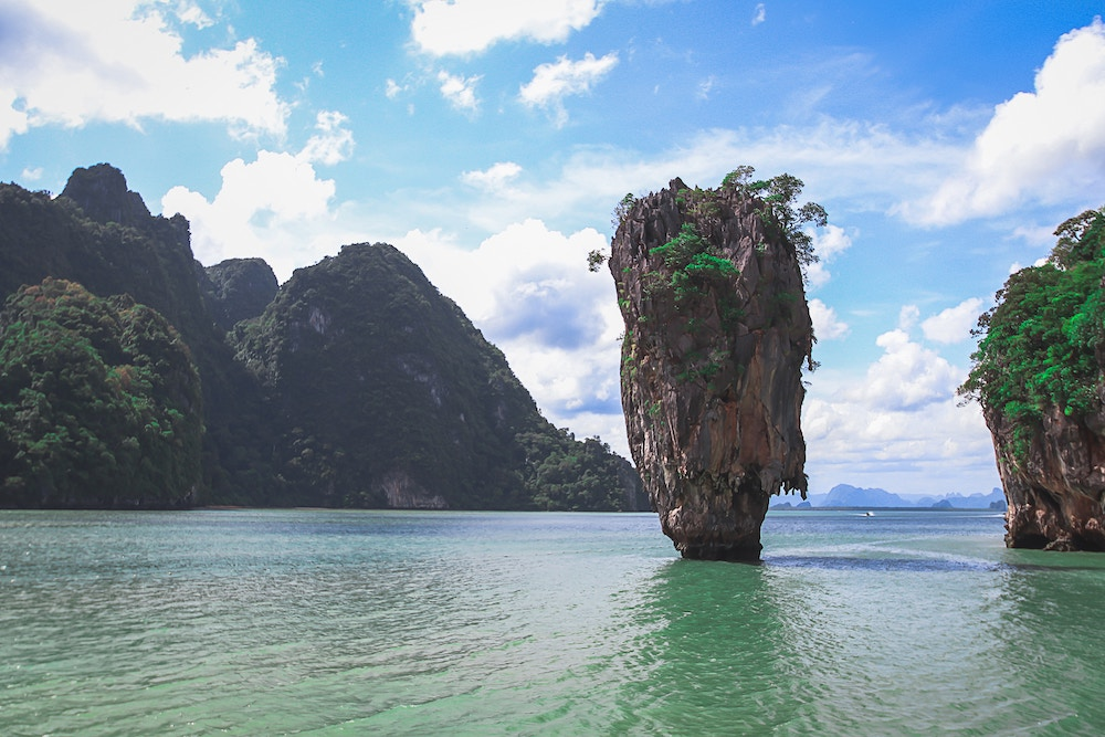 A view of the beautiful waters in Thailand
