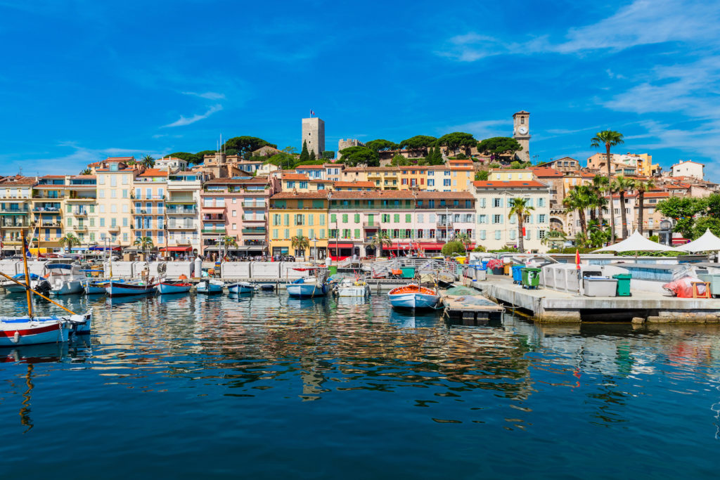 View of the Bay of Cannes