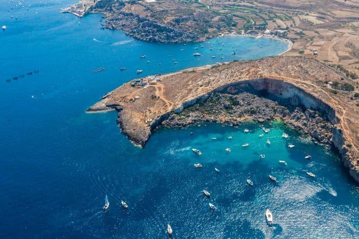 Saint Paul bay in Malta