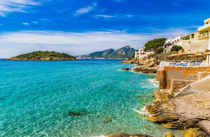 Stunning view of Sant Elm coast
